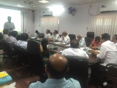 Industrial Association meeting discussing the industrial profile of Silvassa